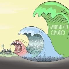 Read more about the article Il cambiamento climatico: l'onda più grande