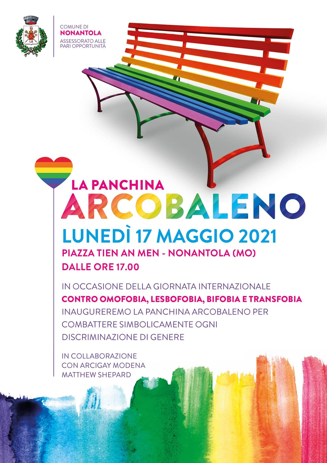 Read more about the article La panchina arcobaleno